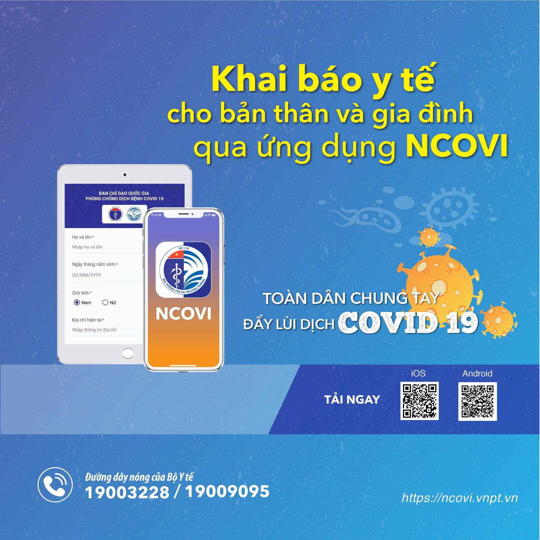 Người dân cần trung thực khi khai báo y tế để góp phần đẩy lùi dịch bệnh COVID-19