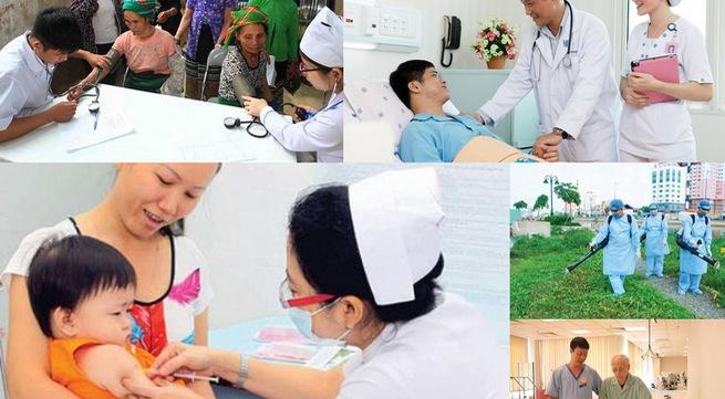 Trạm y tế xã Vĩnh Sơn chú trọng công tác khám chữa bệnh, chăm sóc sức khỏe ban đầu cho người dân